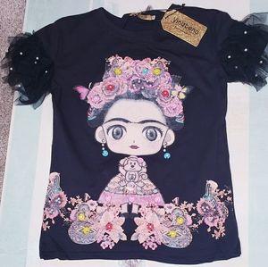 Frida 3D T-Shirts